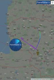 Американский самолёт-разведчик подлетел к западной российской границе