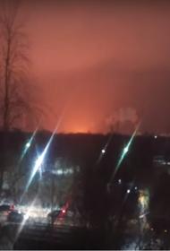 На НПЗ в Ухте тушат пожар площадью 1000 квадратных метров