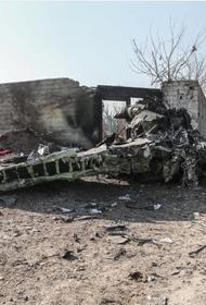 В США назвали новую причину крушения украинского самолета в Иране
