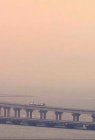 Путин сообщил, когда начнется полноценное грузовое сообщение по Крымскому мосту