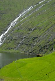 Странное природное явление засняли на Фарерских островах