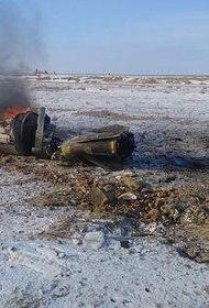 Обломки, обнаруженные в Актюбинской области Казахстана, не представляют опасности