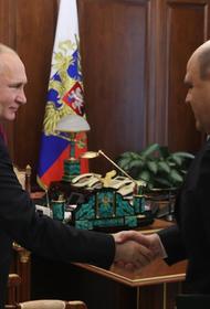 Путин предложил главе ФНС стать премьером