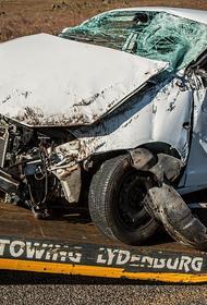 Появилось видео столкновения более 15 машин под Адыгейском, где погиб человек