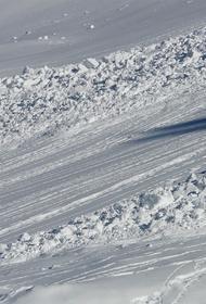 В Красноярском крае сошла вторая за последние двое суток лавина
