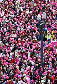 Розовые шапочки против Трампа