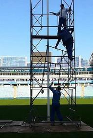 Руководство стадиона «Фишт» обещает восстановить поле после матча по регби