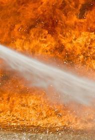 Танкер горит у берегов ОАЭ