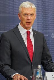 Премьер-министр Латвии недоволен портами Риги и Вентспилса
