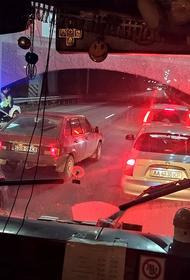 Киевские гаишники парализовали трассу для кортежа Майка Помпео