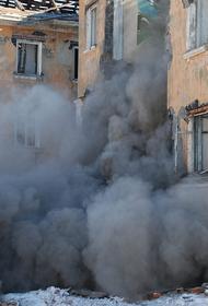 Опубликовано видео последствий обрушения крыши кафе в Новосибирске