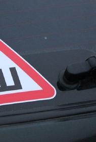 На автомобили с шипованной резиной могут обязать клеить значок «Ш»