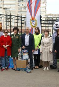 Воспитанников ЦСКА научили разделять мусор