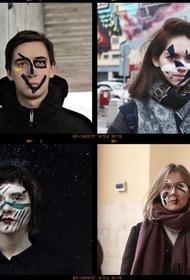 Грим как символ несогласия. Московские художники против