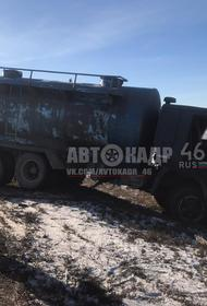 Под Курском столкнулись машины Lada Kalina и КамАЗ, есть погибшие