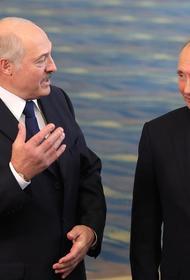 Лукашенко обсудил с Путиным публикации российских СМИ