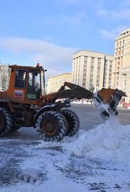 Снег в Москве может растаять еще до прихода весны