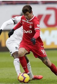 Федор Смолов в своем первом матче в составе