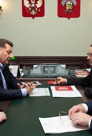 Спикер ЗСК и глава «Девелопмент-Юг» обсудили перспективы строительной отрасли