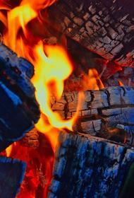 В Томском районе произошел пожар, сгорели 11 машин