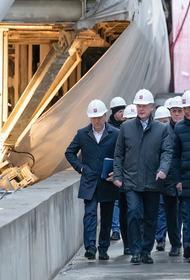 В Москве ежемесячно прокладывается около 3 км тоннелей метро