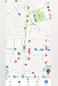 Яндекс.Карты теперь показывают движение городского транспорта в Краснодаре
