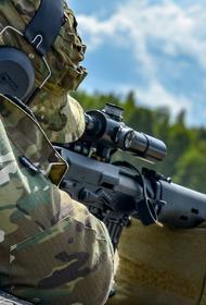 Минобороны показало кадры уничтожения боевиков армейским спецназом
