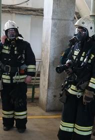 В Волжском ликвидировали условный пожар