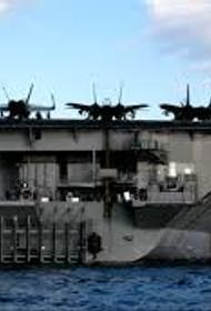 Авианосная ударная группа ВМС США во главе с атомным авианосцем вошла в Средиземное море