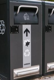 Новинкой мусорной культуры Берлина стали умные баки