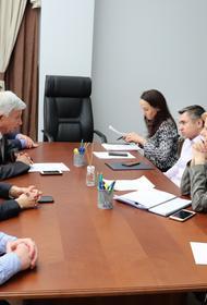 Владимир Евланов встретился с министром экономики Александром Руппелем