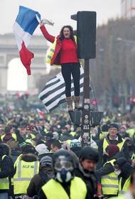Жёлтые революционеры Парижа. Ситуация сегодня