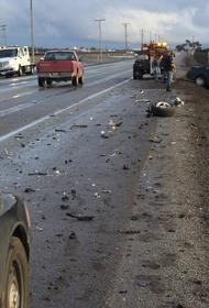Автомобиль перевернулся на юго-западе Москвы