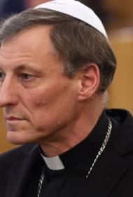 Ничего святого: в старой Риге совершено нападение на главу Римско-Католической Церкви