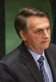 Президент Бразилии опроверг сообщения о диагностированном у него коронавирусе