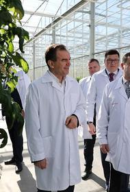 Губернатор Краснодарского края Вениамин Кондратьев посетил Тимашевский район