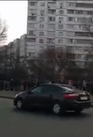 После закрытия метро в Киеве появились километровые очереди на маршрутки