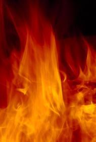 В МЧС сообщили, что в подвале горящего склада в районе Дмитрова находятся тонны нефтепродуктов