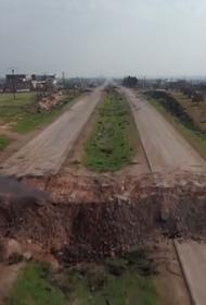 Авиация следила за вторым патрулем в Идлибе