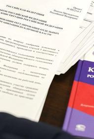 Россияне назвали самые популярные поправки в Конституцию