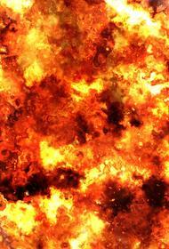 В Томске локализовали крупный пожар, загорелось административное здание