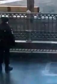Задержанный на Патриарших прудах не выполнил законных требований полиции