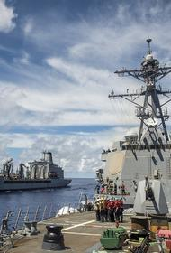 Эсминец США зашел в акваторию Черного моря