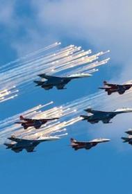 9 мая летчики Крыма  намерены пролететь в небе в честь 75-летия Победы