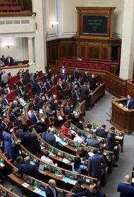 В Верховной Раде предупредили об угрозе диктатуры на Украине после «зеленовируса»