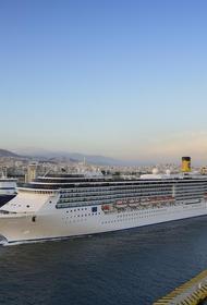 У россиянина на борту круизного судна Costa Atlantica в Нагасаки выявили COVID-19