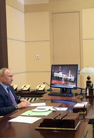 Путин на совещании с банкирами призвал  минимизировать потери в экономике из-за коронавируса