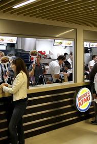 «Бургер Кинг» подал в отношении Милонова иск на 100 миллионов рублей
