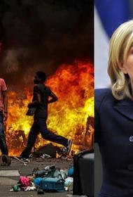 Марин Ле Пен потребовала «нейтрализации сволочей»