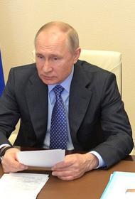 Владимир Путин подписал указ о награждении медиков орденами и медалями